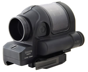 "Trijicon SRS102 Reflex 1x 28mm Obj 4"" Eye Relief Black"