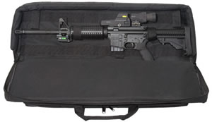 "Max 28123 Tactical Rifle Case 33"" 600 Denier Woven Fabric Black"