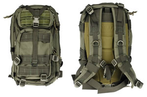 Drago 14-301GR Tracker Backpack Green