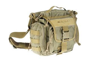Drago 15-302TN Officer Shoulder Pack Tan