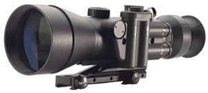 Night Optics NS7403G D-740 Night Vision Scope 3rd Gen 4x 100mm 525 ft @ 1000 yds