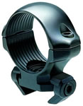 Millett RM00021 Angle-Loc Weaver Style Rings, Ruger 10-22, 96-22 Medium 1 in Diameter Blk