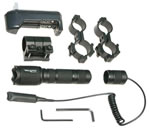 Nite Hunter NHV001 Rifle Mounted Light System (2) CR123 Green
