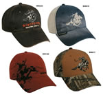 Outdoor Cap WIN2 Win 2 Casual Wine Dk Brown Blue/Khaki Brn/Camo 1 Dozen