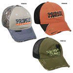 Outdoor Cap PR#1 Primos 1 Casual Caps Blk/Olive, Orange/Blk, Khaki/Camo 1 Dozen