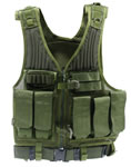 Drago 52301GR First Strike Tactical Vest Green