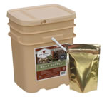 Wise Foods 01760 60 Serving Meals Ready to Eat Meat Bucket