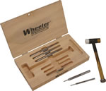 Wheeler 951887 Hammer and Punch Set Reloading Kit 15 Piece Universal All Caliber
