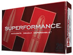 Hornady Superformance Ammunition 81006, 30 TC, Gliding Metal Expanding, 150 GR, 2695 fps, 20 Rd/bx