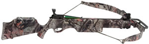 Excalibur 6780 Exomax Crossbow, 225 lbs Draw, 350 FPS, Fiber-Optic Front Sight, Realtree Camo Finish
