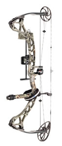 Diamond A11964 Dead Eye 60# MOTS Compound Bow, RH, 60 lbs Draw, 343 FPS, 4-Pin Sight, Quiver & 7'' Stabilizer, Treestand Camo Finish