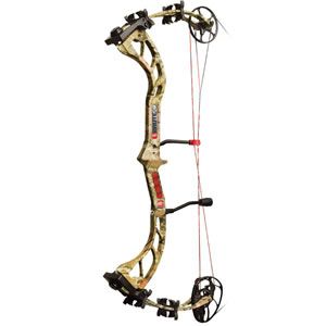 "PSE 1202MPRIF2970 Brute X 25-30"" 70# Compound Bow, RH, 70 lbs Draw, 312-320 FPS, Camo Finish"