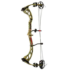 PSE 1203HPRIF2960 Stinger 3G 60# Compound Bow, RH, 60 lbs Draw, 306-314 FPS, Camo Finish