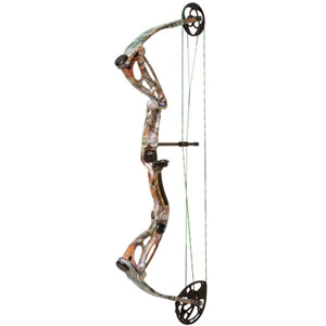 Martin M-24CW927H Exile Pro FXT Vista 70# Compound Bow, RH, 70 lbs Draw, 320-330 FPS, Camo Finish