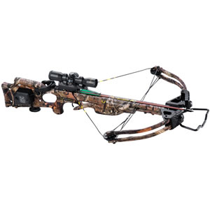 Ten Point C12047-6522 Titan Xtreme w/ACUdraw Crossbow Package, 180 lbs Draw, 333 FPS, Scope, Quiver, 3 Arrows, Camo Finish
