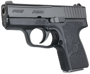 Kahr PM9 Micro Pistol PM9094NA, 9mm, 3 in, Textured Polymer Grip, Black Finish, 6+1 Rd, Night Sights