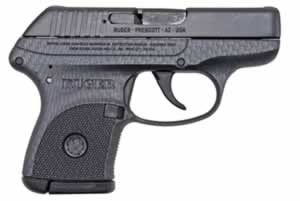 Ruger Model LCPCF Pistol 3722, 380 ACP, 2.75 in, High Perf Glass Filled Nylon Grip, Carbon Fiber Finish, 6 + 1 Rd