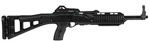 Hi Point Carbine TS Rifle 4095TS, 40 S&W, 17.5 in, Semi Auto, Blk Syn Skel Stock, Black Finish, 10 + 1 Rds