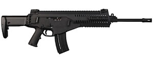 Beretta Model ARX160 Rifle JXR21800, 22 LR, 18 in, Semi Auto, Fold Stock, Blk Finish, 20 Rds