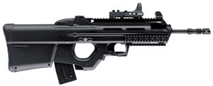 FN Herstal Model FS2000 CQB Rifle 3835980510, 223 Remington, 17.4 in, Semi Auto, Ambidex Thumbhole Stock, Mt Blk Finish, 10 + 1 Rds