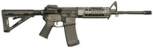 CORE15 M4 Tactical Rifle System 6408, 5.56 NATO, 16 in, Magpul MOE 6 Pos Stock, Black Finish, 30 + 1 Rds