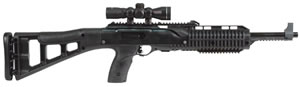 Hi Point Model TS Carbine 995TS4XRGB, 9 mm, 16.5 in, Semi Auto, Black Poly Stock, Black Finish, 10 + 1 Rds, w/RGB Scope