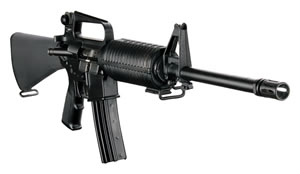 DPMS Panther Classic Rifle RFA316, 223 Remington, 16 in, Pardus, Com tube Stock, Black Finish, 30+1 Rds