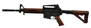 DPMS Panther Diva LBR Rifle RFA3DLBR, 223 Remington, 16 in, Magpul MOE Stock, Leopard Finish, 30+1 Rds