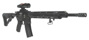DPMS Panther 3G1 Rifle RFLR3G1, 308 Winchester, 18 in, Magpul CTR Stock, Black Finish, 19+1 Rds