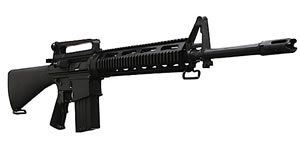 DPMS Panther LR Tactical Rifle RFLRTAC20, 308 Winchester, 20 in, A2 Buttstock, Black Finish, 19+1 Rds