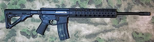 2 Vets 6.8 SPC II Rifle 2VA68BLK, 6.8 SPC, 20 in, Semi-Auto, Magpul MOE Stock, Black Finish