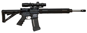 Colt CRE-18 Expert Competition Rifle CRE18CA, 223 Remington, 18 in, Magpul 4-Pos Adj Buttstock, Black Finish, 10+1 Rds, CA Approved