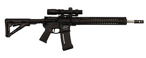 Colt CRP-18 Pro Competition Rifle CRP18CA, 223 Remington, 18 in, Magpul CTR Stock, Black Finish, 10+1 Rds, CA Approved