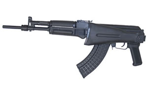 Arsenal SLR107CR Rifle SLR10761, 7.62 X 39, 16 in, Side Fold Stock, Black Finish, Adj Sights, 5 Rd, Scope Rail, Gas Block