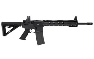 Daniel Defense V7 Rifle DA09078NS, 6.8 MM, 18 in, Magpul MOE Stock, Black Finish, Flat Top, 30 Rd, Quad Rail