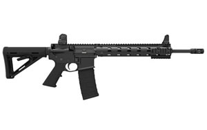 Daniel Defense V7 Rifle DA22160NS, 5.56 NATO, 16 in, Magpul MOE Stock, Black Finish, Flat Top, 10 Rd, Bullet Button, CA Approved