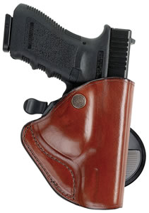 "Bianchi 23236, PaddleLok Concealment Springfield Armory XD Holster 83, Belts up to 1.75"", Tan Leather Smooth"