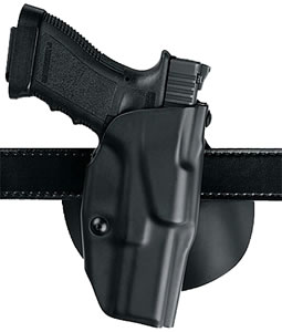Safariland 6378-183-411, Model 6378 ALS Paddle Holster, For Glock, Black Injection Molded Thermoplastic STX Plain