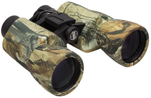 Bushnell 131055 Powerview Binoculars, 10x 50mm Objective, Realtree All Purpose Rubber Armor Finish