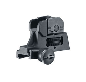 Walther 576110 Rear Sight Tactical M4 & M16 Black