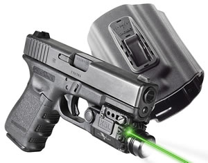 Viridian X5L Green Laser w/Holster X5LPACKX1, For Glock 17/19/23