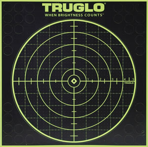 Truglo TG10A6, Tru-See Paper Targets, 6 Pack