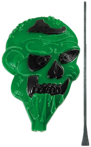 "Champion 44820, Duraseal Zombie Shoot-Out Target, 1 Self-Healing Green/Black, 7"" x 6"""