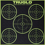 Truglo TG11A6, Tru-See Paper Targets, 6 Pack