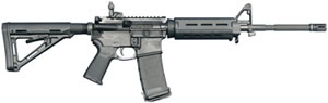 CORE 15 MOE M4 Rifle 6449, 223 Rem/5.56, 16 in Chrome Moly BBL, Semi-Auto, Magpul MOE Adj Stock, Blk Finish, MOE Furniture, 30 Rds