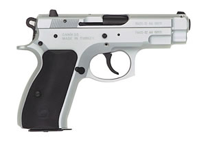 Tri Star C-100 Pistol 85024, 40 S&W, 3.9 in, Polymer Grip, Chrome Finish, 12+1 Rd