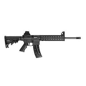 Smith & Wesson Model M&P 15-22 Rifle 811062, 22 LR, 16.5 in, Semi-Auto, 6 Pt Collapsible Stock, Black Finish, 10+1 Rds, Ca Model