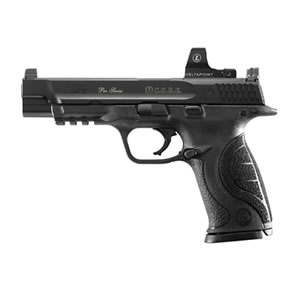 Smith & Wesson M&P9L Pro Series C.O.R.E. Pistol 178058, 9mm, 5 in, Interchangeable Palmswell Grip, Black Finish, 17+1