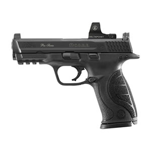 Smith & Wesson M&P40 Pro Series C.O.R.E. Pistol 178060, 40 S&W, 4.25 in, Interchangeable Palmswell Grip, Black Finish, 15+1
