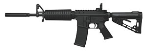 Colt Lightweight Carbine AR6720LECAR, 223 Remington/5.56 NATO, 16.1 in, Semi-Auto, 4 Pos Collapsible Stock, Black Finish, 20+1 Rds